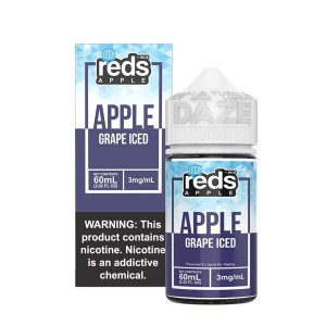 Vape 7 Daze Grape Reds Apple Iced (60ml)