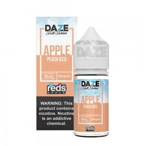 Reds Apple Salt   Peach Iced (30ml)