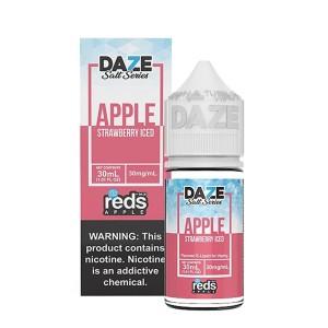 Reds Apple Salt   Strawberry Iced (30ml)