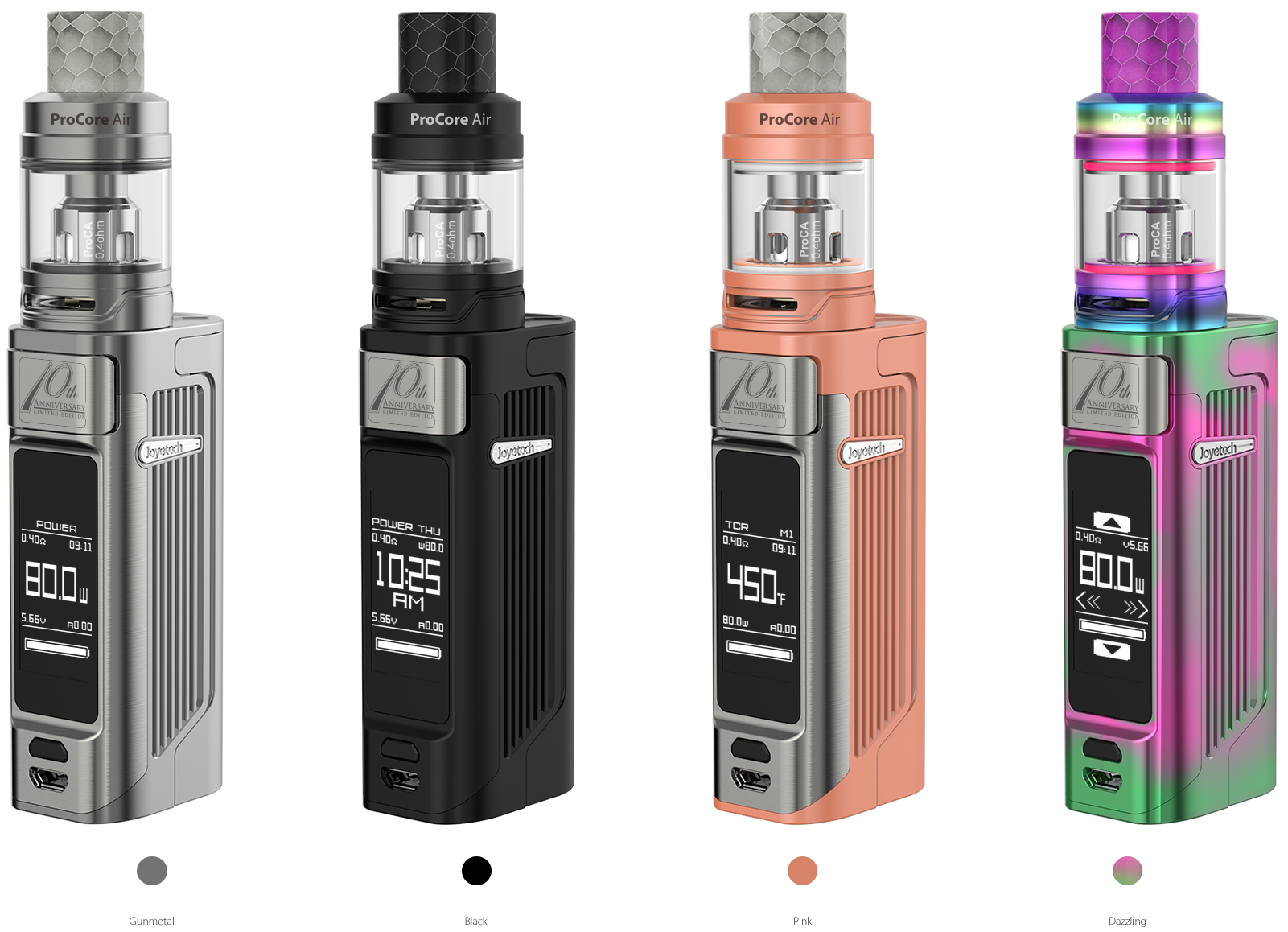 Joyetech ESPION Solo 80W with ProCore Air Starter Kit